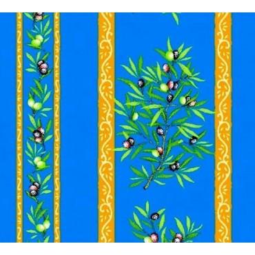 clos des oliviers bleu