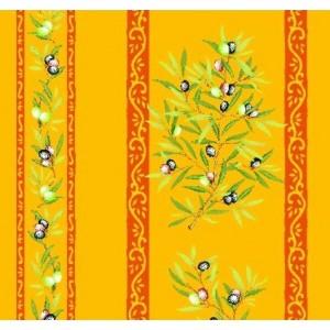 Clos des oliviers jaune rouge