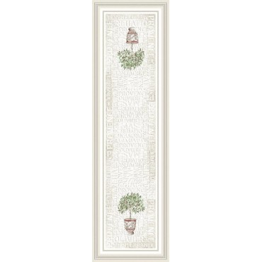 Chemin de table jacquard Gordes 1m 80 / 55 cm