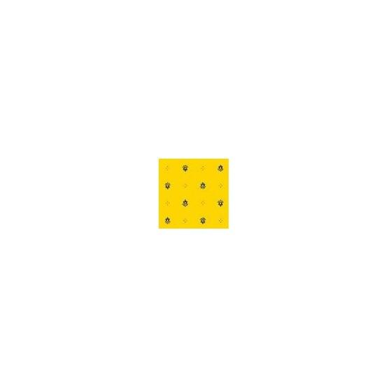 Nappe coton 2m/1m50  exclusif  jaune bleu