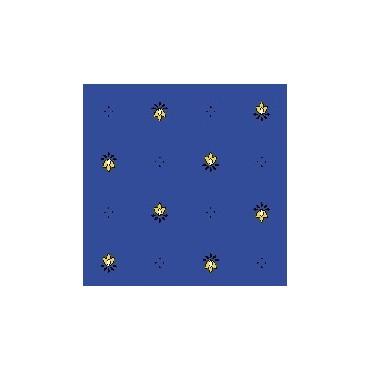 Exclusif bleu jaune