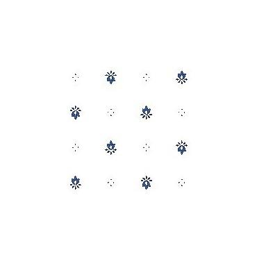 Exclusif blanc bleu