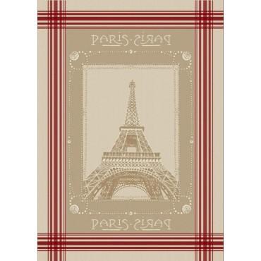 Lot de 3 Torchons Jacquard Eiffel
