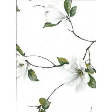 Nappe Carrée voile Organza magnolia