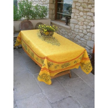 Clos des oliviers jaune
