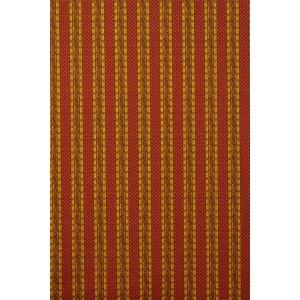 Tissu  au mètre coton  provençal Grasse  rouge jaune rayure
