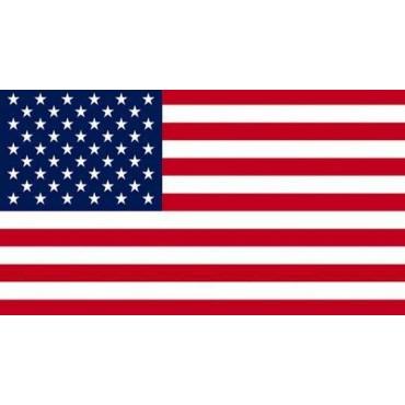 Serviette de plage USA Drapeau Américain 75 cm / 150 cm