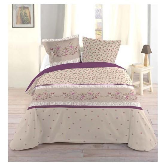 housse de couette hortense 260 cm x 240 cm. Black Bedroom Furniture Sets. Home Design Ideas