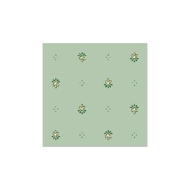 Nappe exclusif vert enduite 2m / 1m50