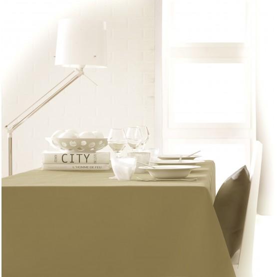 nappe unie mastic 2m50 x 1m50 anti tache et sans repassage. Black Bedroom Furniture Sets. Home Design Ideas