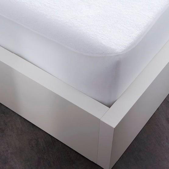 Prot ge matelas imperm able 90 cm x 190 cm lit 1 place - Protege matelas plastifie ...