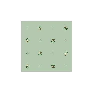 Nappe exclusif vert  plastifiée 2m50 / 1m50