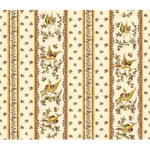 Nappe Faïence de Moustiers rose coton 3m/1m60