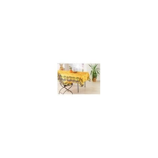 Nappe olive olivier et champs de lavande jaune 1m50/1m20