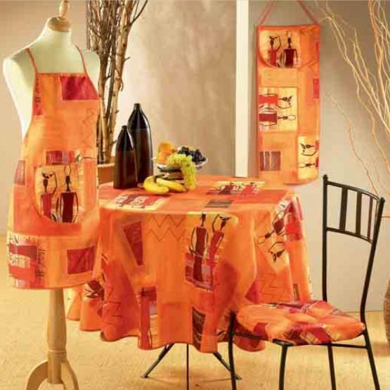 Africaine Orange  2m40/1m50