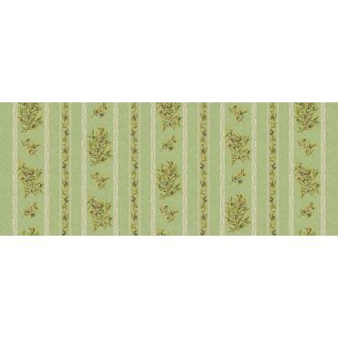 Nappe clos des oliviers vert coton enduit plastifié 3m/1m60