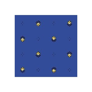 Nappe Exclusif Bleu Jaune