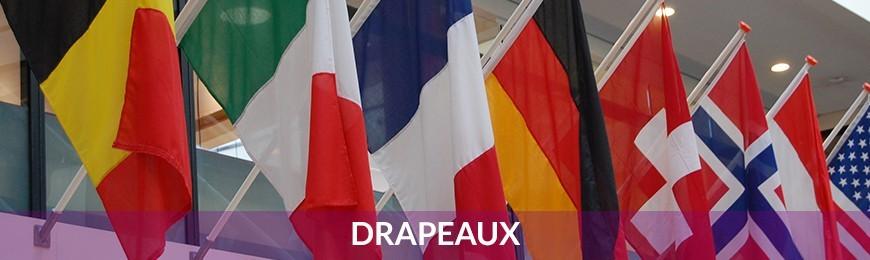 drapeau français, drapeau niçois, drapeau