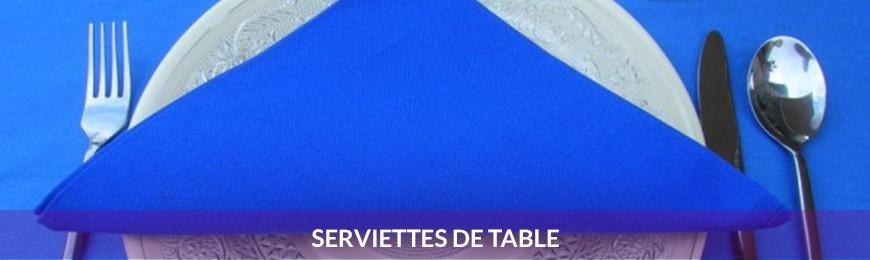 Serviettes de table et ronds de serviette